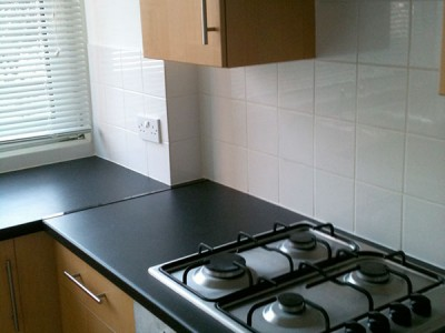 End of tenancy cleaning of a kitchen